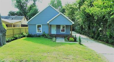 Houston TX Single Family Home For Sale: $149,797