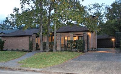 Houston Single Family Home For Sale: 2306 Binley Drive