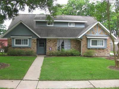 Single Family Home For Sale: 15518 Baybrook Drive