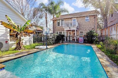 Houston Single Family Home For Sale: 1754 Harold Street