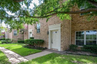 Houston TX Condo/Townhouse For Sale: $179,900