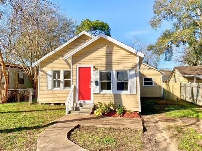 Rosenberg Single Family Home For Sale: 1410 8th Street