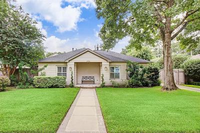 Houston TX Single Family Home For Sale: $1,055,000