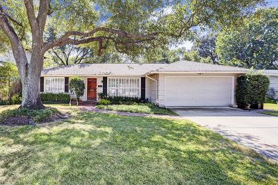 Houston Single Family Home For Sale: 5421 Pagewood Lane