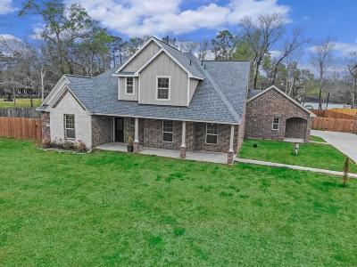 Crosby Single Family Home For Sale: 1418 Rain Lake Trail