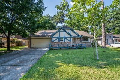 Houston Single Family Home For Sale: 2115 Oak Shores Drive