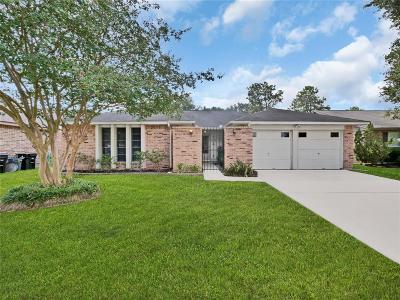 Houston Single Family Home For Sale: 7222 Bubbling Brooks Lane
