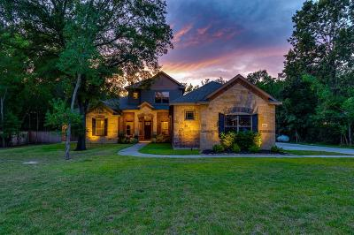 Huffman Single Family Home For Sale: 28511 Redwood Cliff Lane