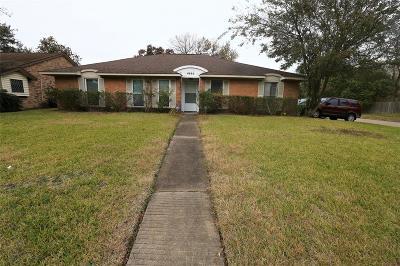 Houston Single Family Home For Sale: 6002 W Bellfort Street