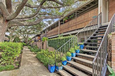 Houston Condo/Townhouse For Sale: 3920 W Alabama Street #4