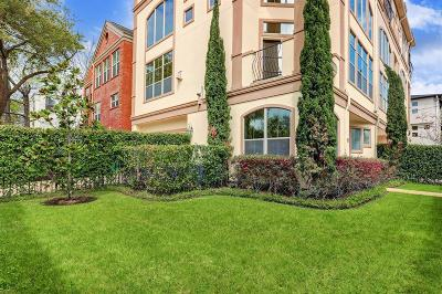 Houston Condo/Townhouse For Sale: 6518 Pickens Street