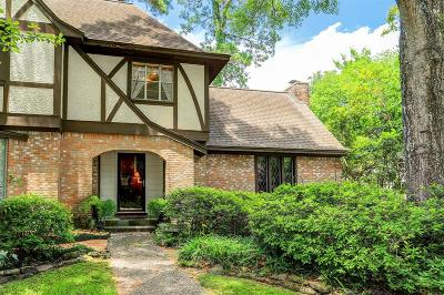 Kingwood Single Family Home For Sale: 1314 Trailwood Village Drive