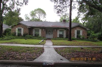 Houston Single Family Home For Sale: 15427 Baybrook Drive