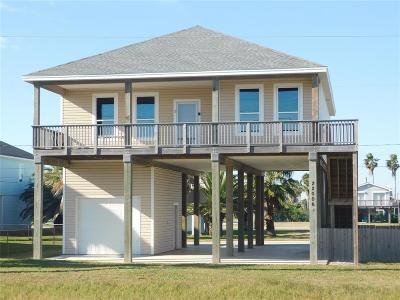 Galveston Single Family Home For Sale: 22006 San Luis Pass Rd