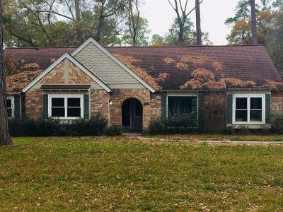 Houston Single Family Home For Sale: 2402 Creekleaf Road