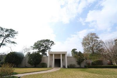 Harris County Single Family Home For Sale: 11 Inwood Oaks Drive
