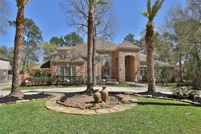 The Woodlands Single Family Home For Sale: 34 N Brokenfern Drive