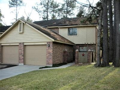 Kingwood TX Condo/Townhouse For Sale: $117,000