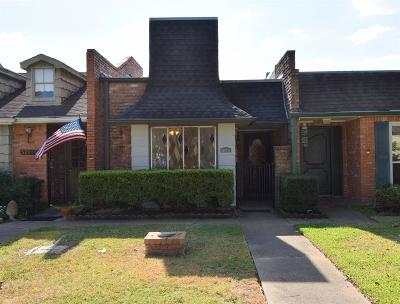Bellaire Condo/Townhouse For Sale: 5205 Palmetto Street #D
