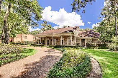 Piney Point Village Single Family Home For Sale: 8506 San Felipe Street