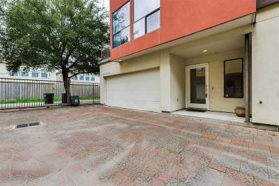 Houston Condo/Townhouse For Sale: 4406 Spencer Street #B