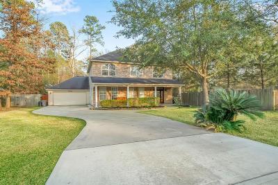 Conroe Single Family Home For Sale: 10380 Longleaf Drive