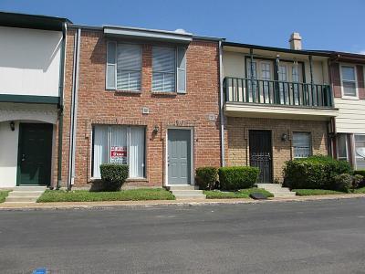 Houston Condo/Townhouse For Sale: 7700 Creekbend Drive #12