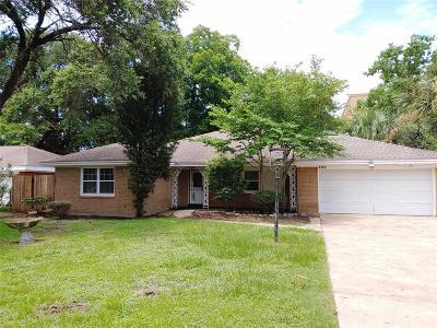 Houston Single Family Home For Sale: 1737 Hollister Street