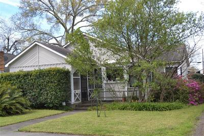 Houston Single Family Home For Sale: 741 Columbia Street