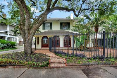 Houston Single Family Home For Sale: 908 Kipling Street