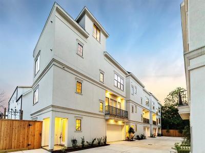 Houston Single Family Home For Sale: 2511 Ohsfeldt Street #E