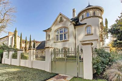 Houston Single Family Home For Sale: 2365 Dunstan Road