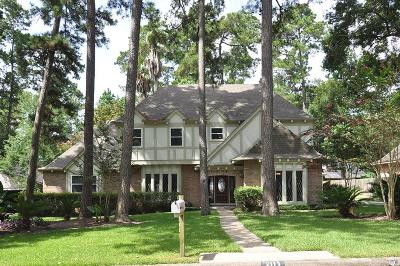 Kingwood Single Family Home For Sale: 2114 Spruce Grove Drive