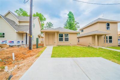 Montgomery Single Family Home For Sale: 16690 E Hammon