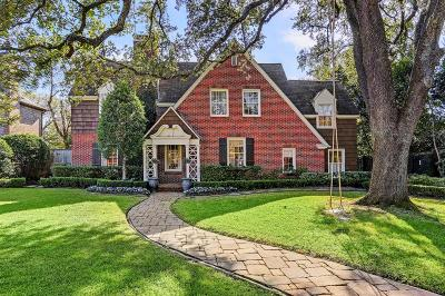 River Oaks Single Family Home For Sale: 2119 Pine Valley Drive