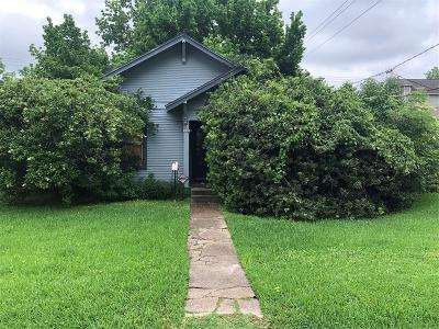Galveston County, Harris County Single Family Home For Sale: 331 E 26th Street