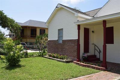Single Family Home For Sale: 3802 Avenue M