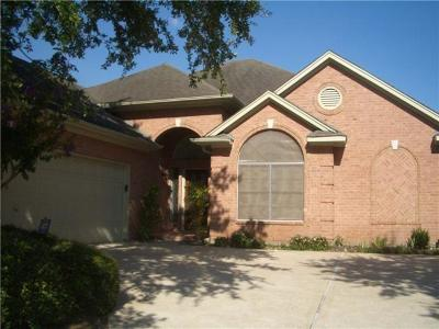 Single Family Home For Sale: 2727 Gregway Lane