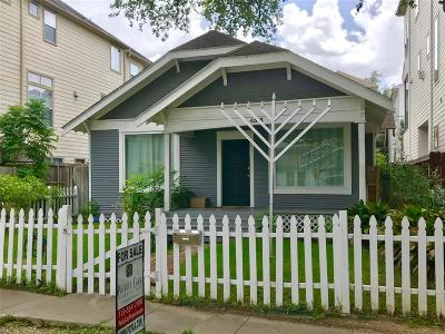 Houston Single Family Home For Sale: 4313 Dickson Street