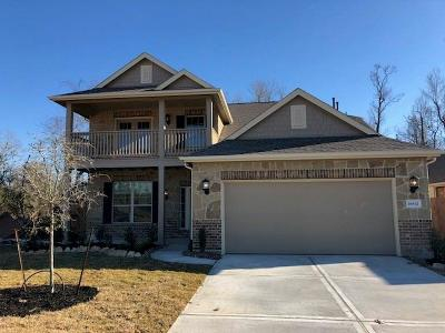 New Caney Single Family Home For Sale: 18832 Laurel Hills Drive