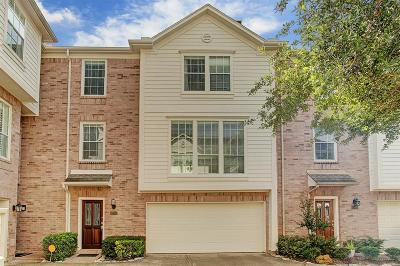 Houston Condo/Townhouse For Sale: 4105 Blossom Street Street #C