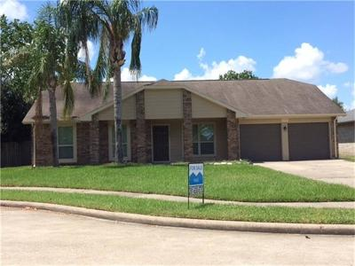 League City Single Family Home For Sale: 629 Meadowbriar