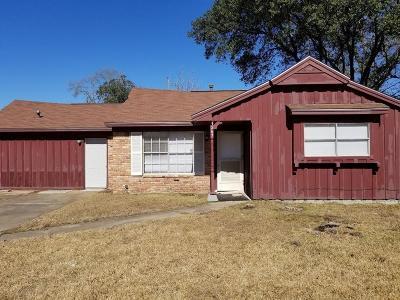 Houston TX Single Family Home For Sale: $139,000