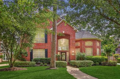 Willis, Montgomery, The Woodlands, Conroe, Shenandoah, Spring Single Family Home For Sale: 9522 Woodcliff Lake Drive