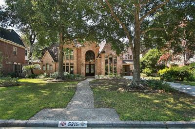 Houston Single Family Home For Sale: 5215 Chambler Court