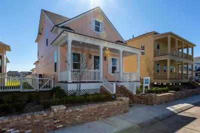 Galveston Single Family Home For Sale: 7 Broad Street