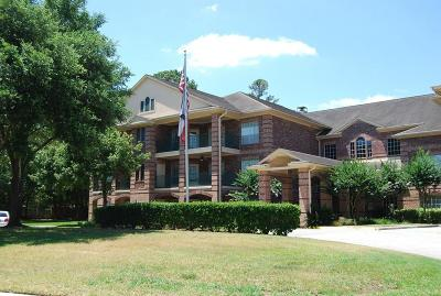Kingwood Condo/Townhouse For Sale: 2803 Kings Crossing Drive #106