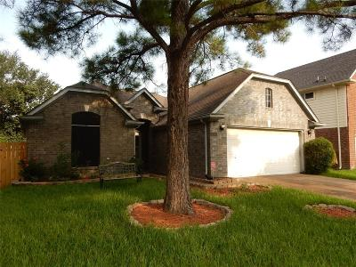 Katy Single Family Home For Sale: 6307 Founding Drive