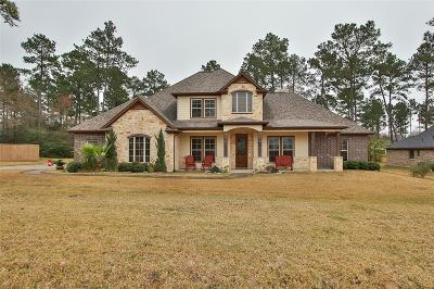 Montgomery Single Family Home For Sale: 11742 Parkside Boulevard