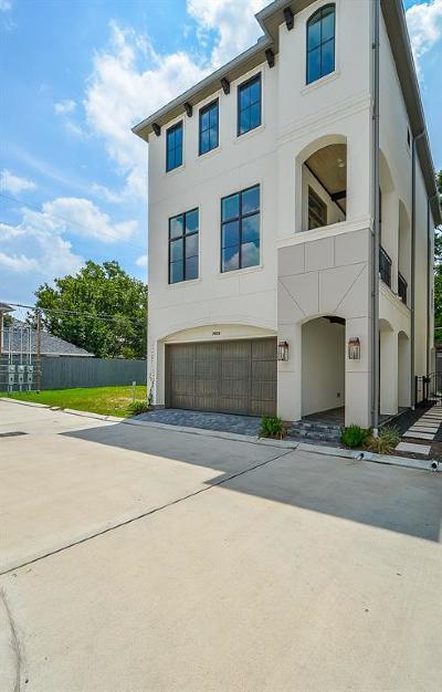 Houston Single Family Home For Sale: 7123 Janet Street